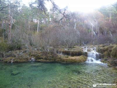 Nacimiento Río Cuervo;Las Majadas;Cuenca;cimbarra ruta cascada del purgatorio almiruete monton de t